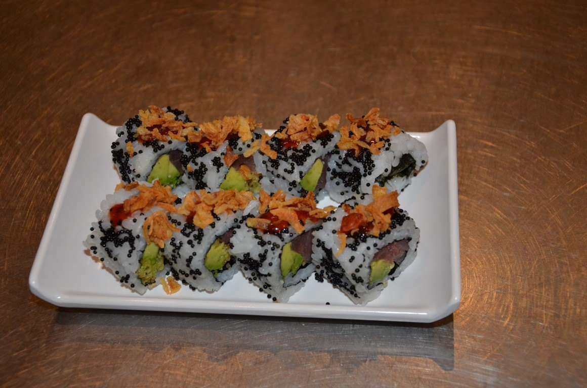 Spicy tuna crunch